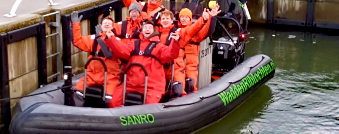 Waddenzee - bedrijfsuitje - zeehonden - zee