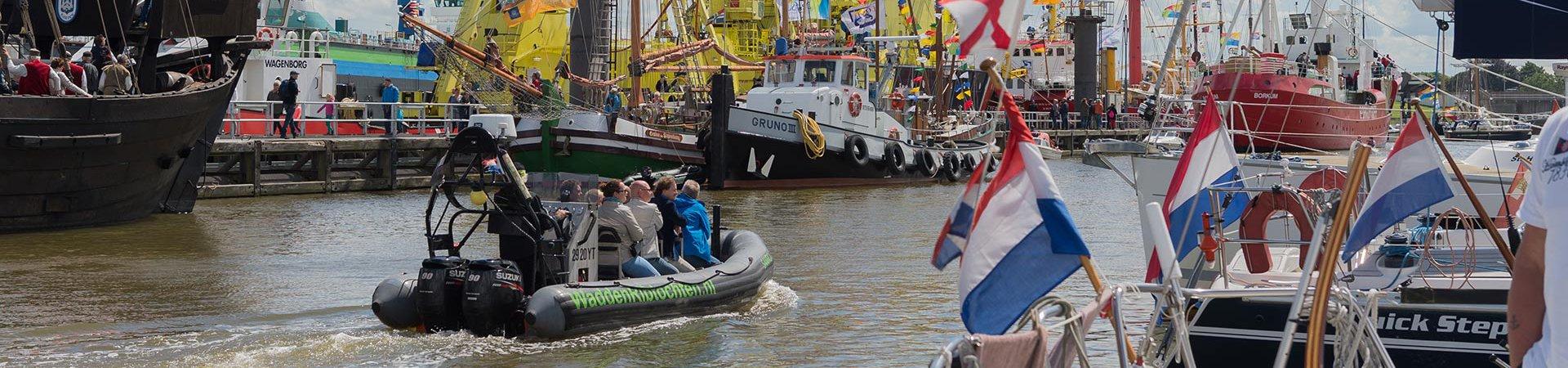 Waddenribtochten Rondvaarten tijdens evenementen op het water