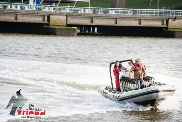 Vaarondersteuning Rob Ubels - WaddenRibtochten - Eemshaven - Groningen