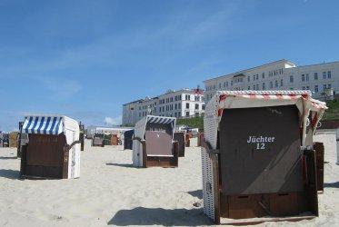 Strandkorf huren op Borkum - Waddenribtochten - waddenzee