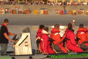 RIB varen waddenzee Groningen Borkum Eemshaven