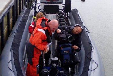 De TV Crew van RTV Noord op onze RIB - Waddenribtochten Delfsail