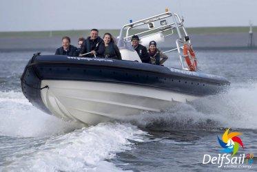 Varen voor Groningen Seaports tijdens Delfsail