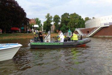 Vervoer over het water EHBO-crew Groningen Swim Challenge