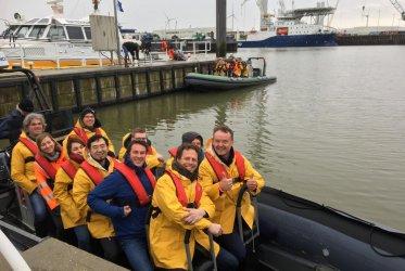 RIB varen - Eemshaven - Waddenzee