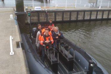 Zon - Zee - Strand - Zeehonden - eemshaven - rib varen