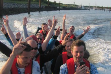 RIB tocht als Bedrijfsuitje - Waddenzee - Eemshaven - Delfzijl