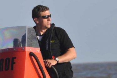 Rob Ubels eigenaar waddenribtochten en schipper