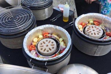 Heerlijk eten van Hap en zo... - BBQ op het Wad