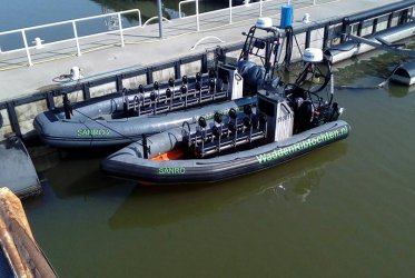 Klaar voor vertrek - Waddenribtochten - varen bij evenementen op het water