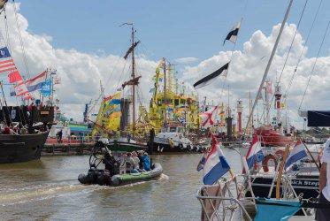 Foto Geert van Duinen - Delfsail 2016 Rondvaarten - Groningen - Delfzijl